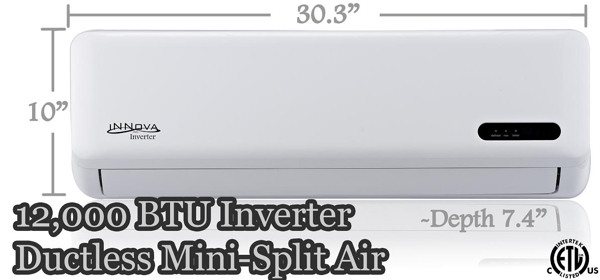 Innova Inc Products 12 000 Btu Innova Ductless Mini
